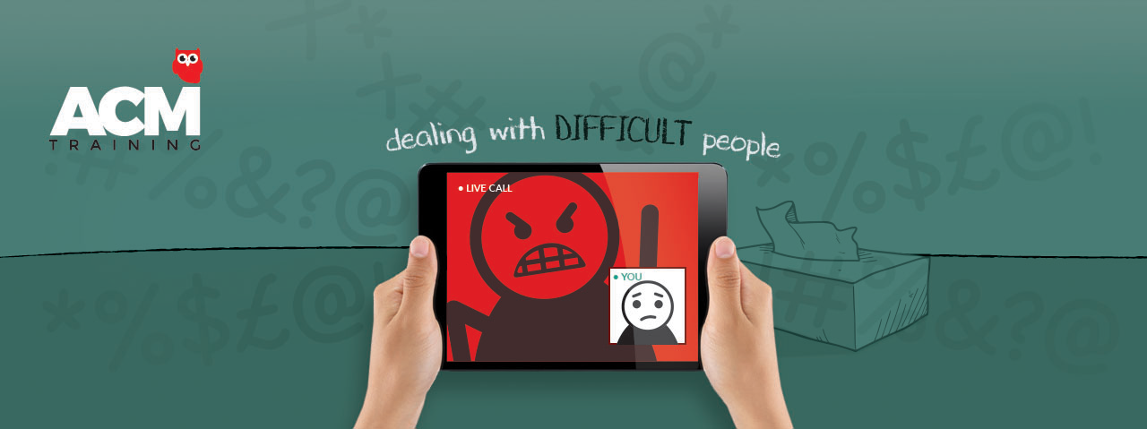 dealing with difficult people online course image